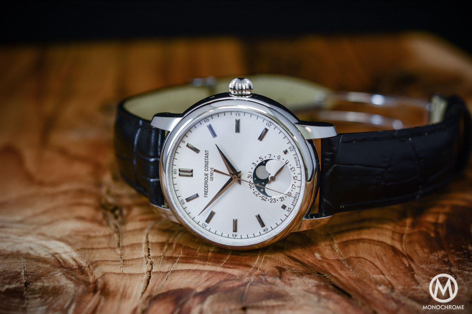 Frederique Constant Manufacture Classics Moonphase stainless steel - 9
