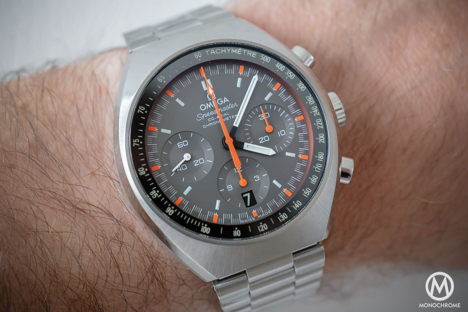 Watch Watch review: Omega Speedmaster MKII video