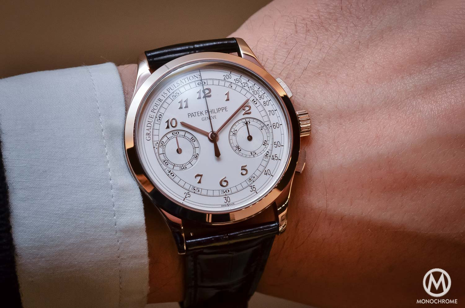 Why the patek philippe 5170g chronograph is such a cool watch review with live photos price for Patek philippe