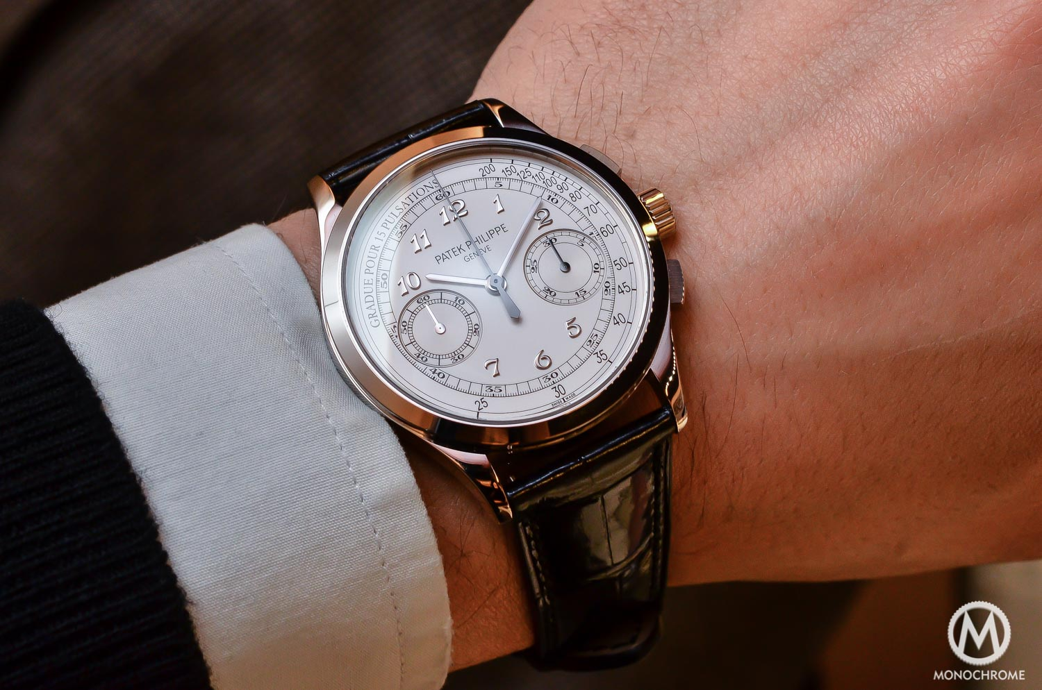 Why the patek philippe 5170g chronograph is such a cool watch review with live photos price for Patek phillipe watch