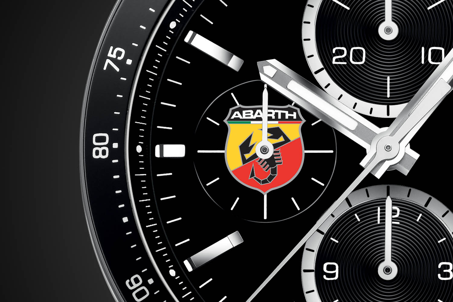 TAG Heuer and Abarth partner with the Abarth 595 Competizione by TAG