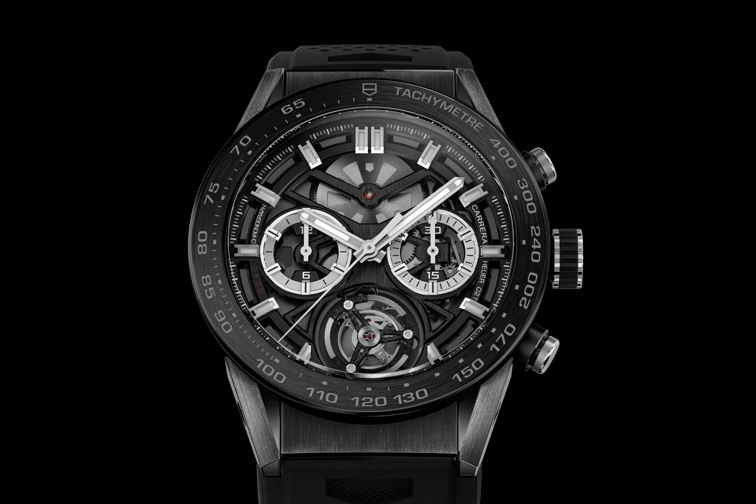 Tag: Introducing The TAG Heuer Carrera Heuer-02T Tourbillon