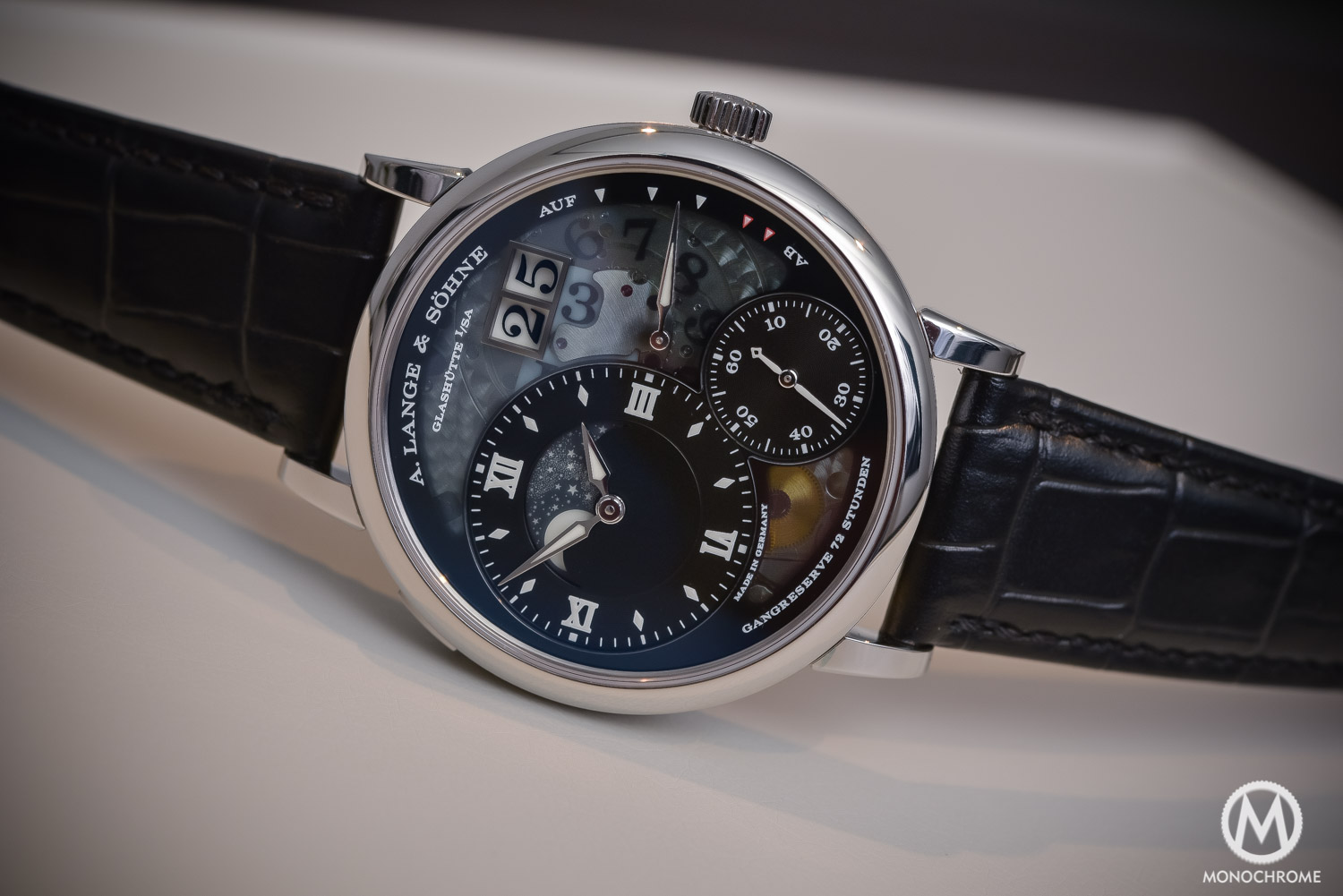 SIHH 2016 - Hands-on review of the A. Lange & Sohne Grand Lange 1 Moon Phase Lumen