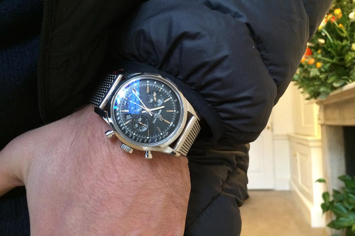 Breitling Transocean Gents Chronograph Watch