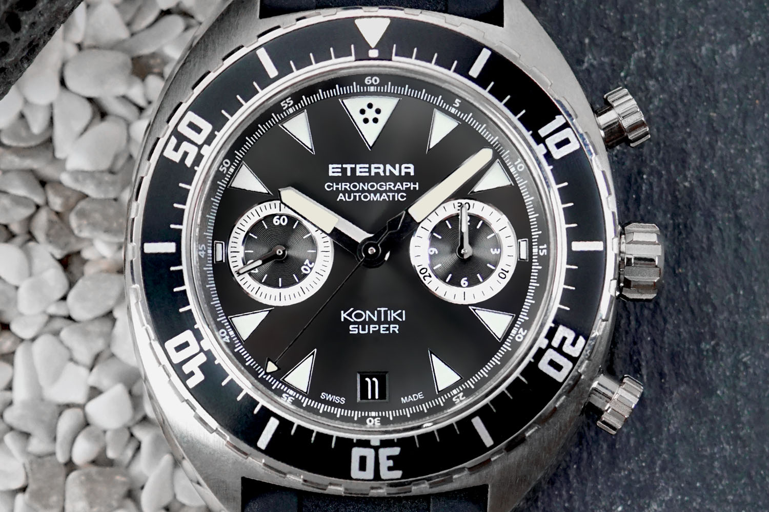 Eterna Super KonTiki Chronograph Flyback In-house movement - Baselworld 2016 - 2