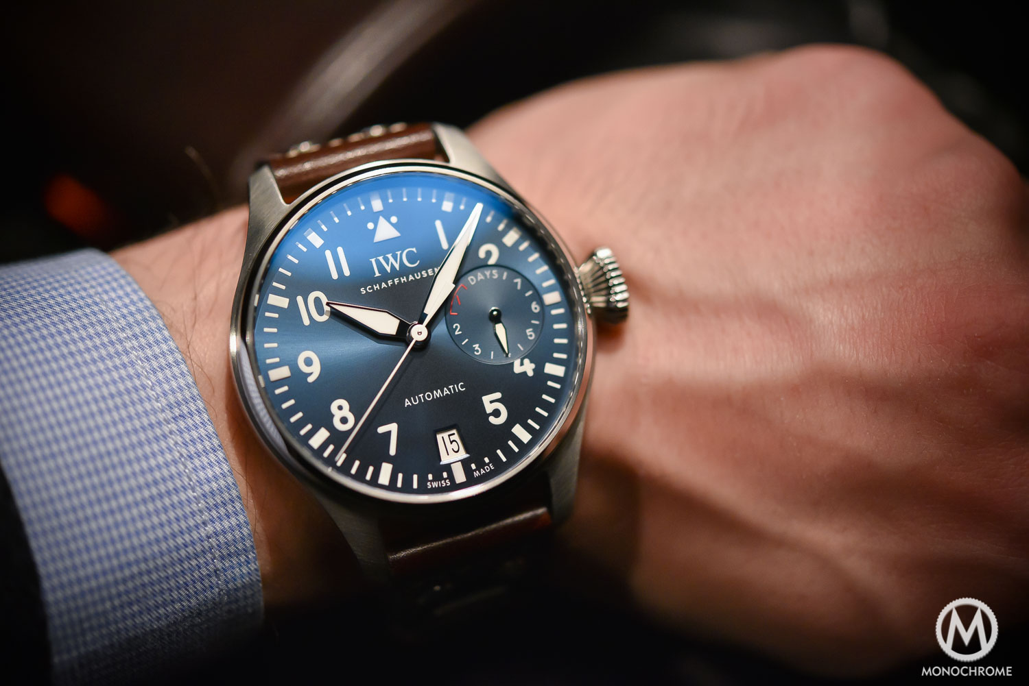 Big Pilot's Watch Edition Le Petit Prince ref. IW500916 - SIHH 2016 ...
