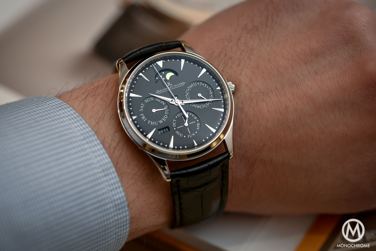 Sihh 2016 Hands On With The Jaeger Lecoultre Master