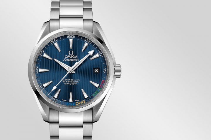 59d4fcdf71d The post Introducing the Omega Seamaster Aqua Terra Pyeongchang 2018  Limited Edition (specs & price) appeared first on Monochrome Watches.