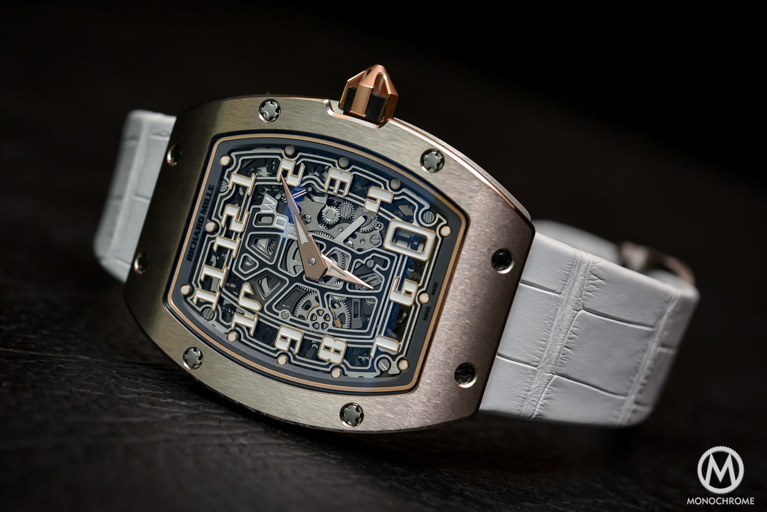 Richard Mille RM 67-01 Automatic Extra Flat white gold - SIHH 2016