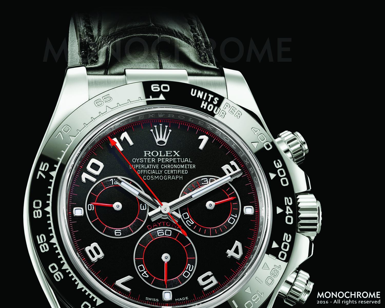 Rolex Daytona 116519LN White Gold Ceramic bezel leather strap - Rolex Baselworld 2016 - Rolex Predictions 2016 - Monochrome