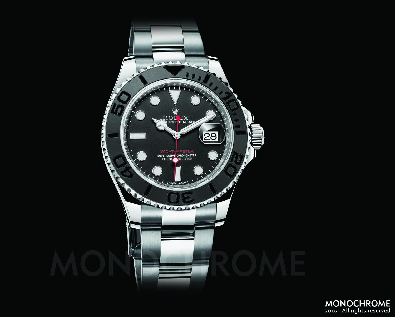 Rolex Yacht-Master 40 stainless steel ceramic oyster bracelet - Rolex Baselworld 2016 - Rolex Predictions 2016 - Monochrome