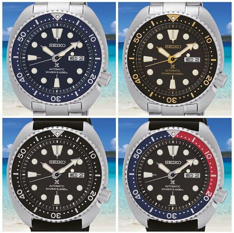 Seiko Prospex SRP collection - SRP773K1 - SRP775K1 - SRP777K1 - SRP779K1