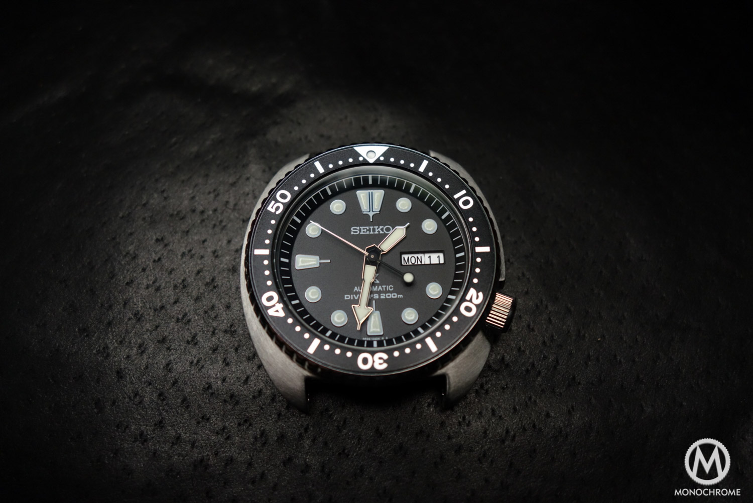 Seiko Prospex SRP777 - review - case, dial and hands