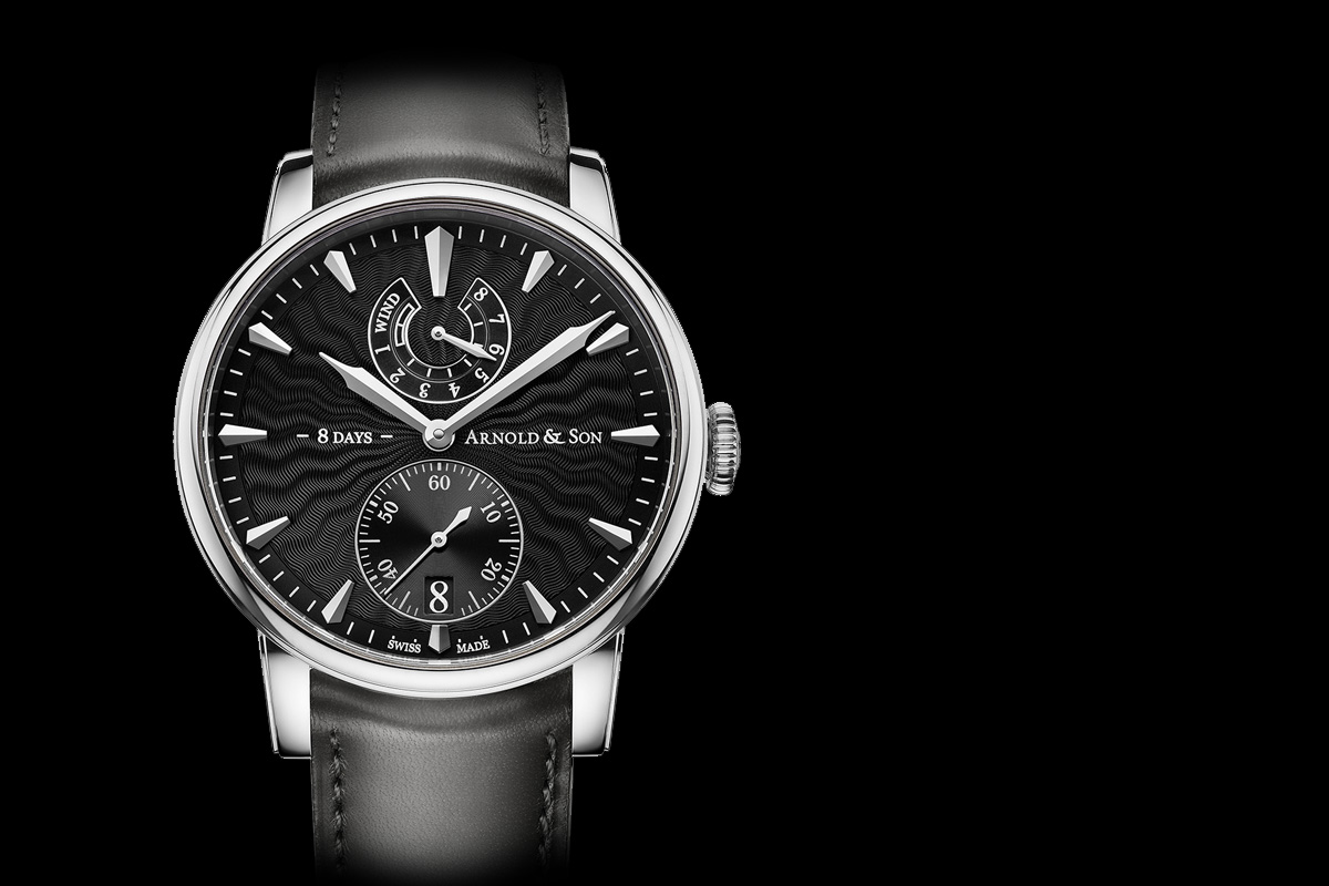 Arnold and Son Eight-Day Royal Navy - black dial