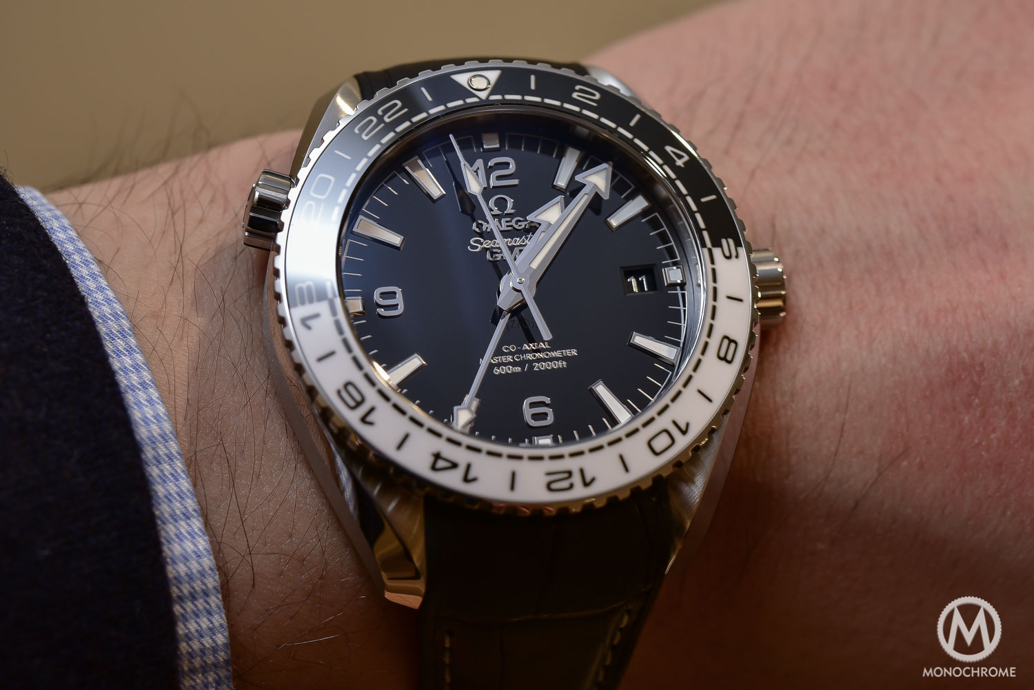 introducing the new omega seamaster planet ocean gmt with