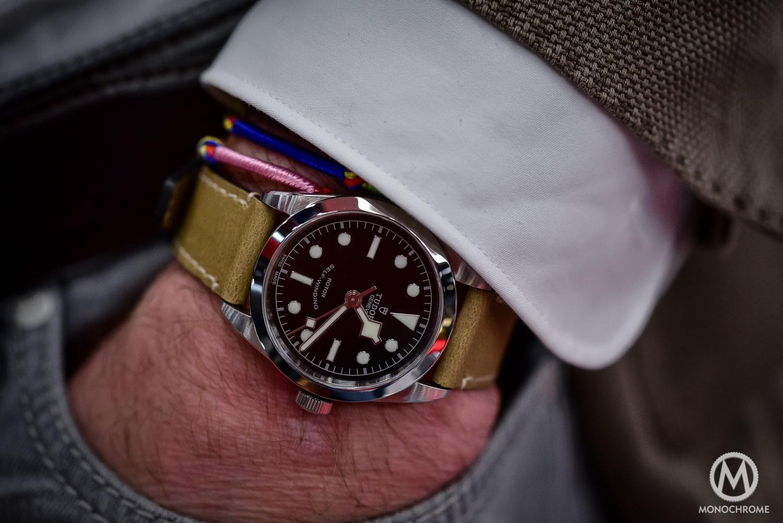 hands on tudor heritage black bay 36mm ref 79500 the tudor watch for both her and him live. Black Bedroom Furniture Sets. Home Design Ideas