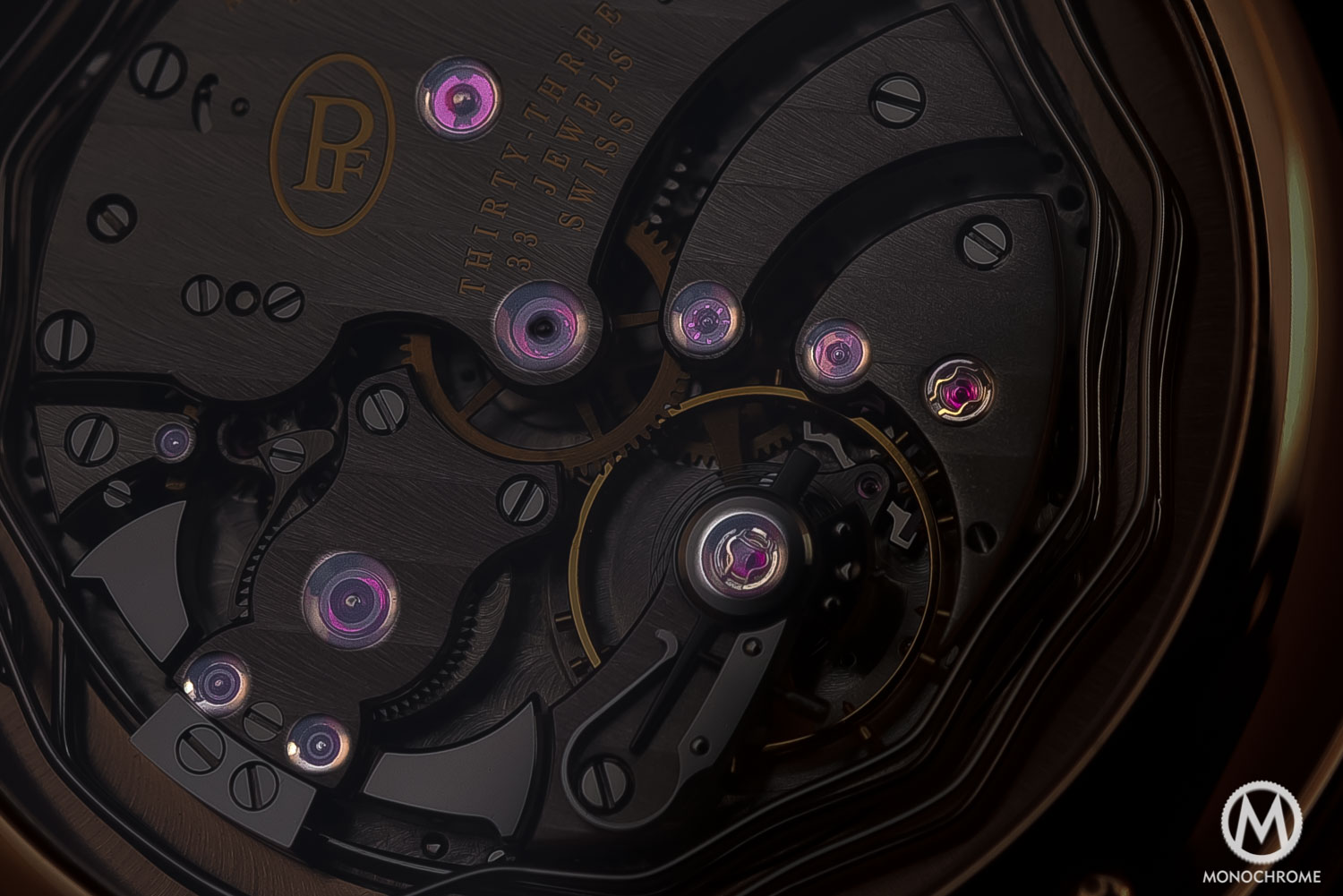 technical perspective - jewel bearings watch movement rubies - 1