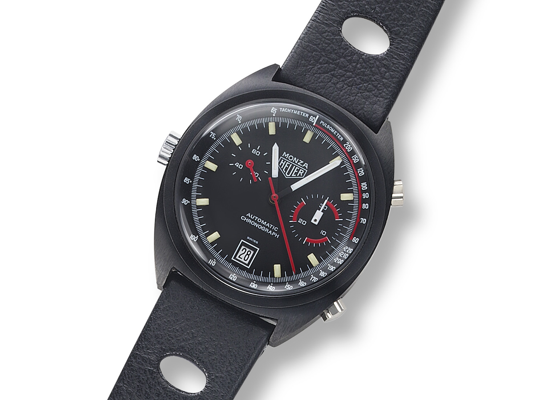 TAG Heuer: Monza Chronograph Calibre 17 – Baselworld