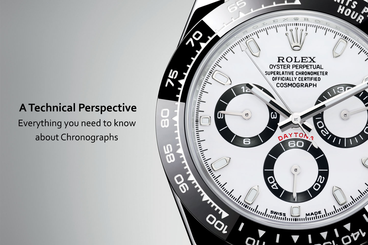 What is a chronograph 85