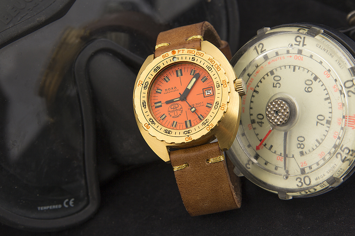 Collectors Series - Possibly Unique Golden Doxa Sub 300 - 1