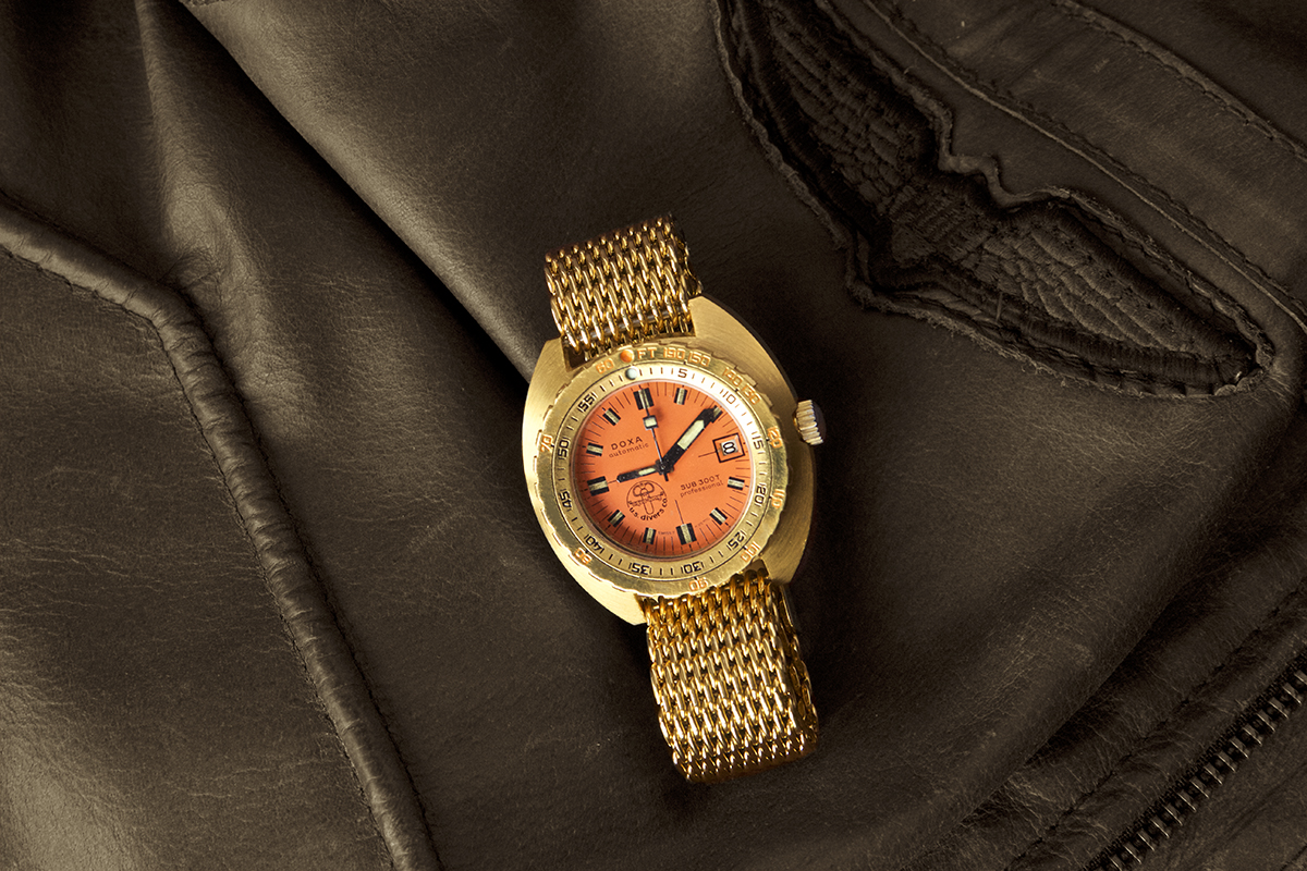 Collectors Series - Possibly Unique Golden Doxa Sub 300 - 5