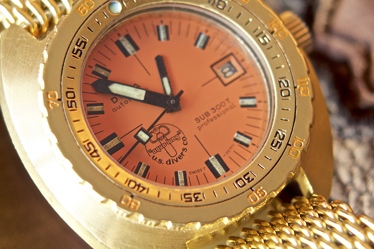 Collectors Series - Possibly Unique Golden Doxa Sub 300 - 6