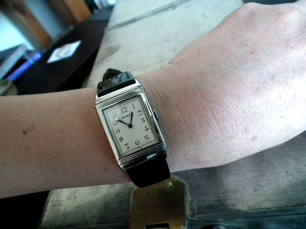 The Collector's Series – Our first female collector and her glorious vintage Jaeger-LeCoultre Reverso