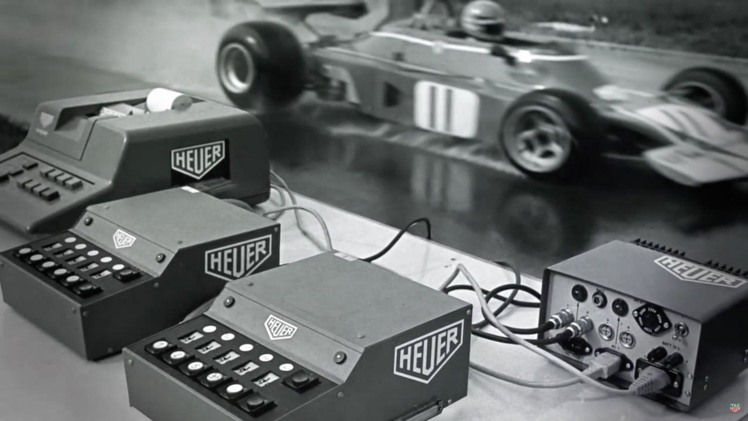 Heuer Formula 1 electronic timing