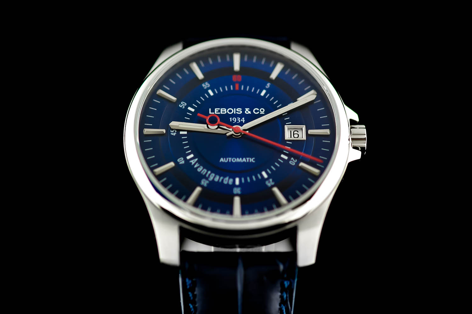 Lebois and Co Avantgarde Date - The Re-launch Edition blue - 1