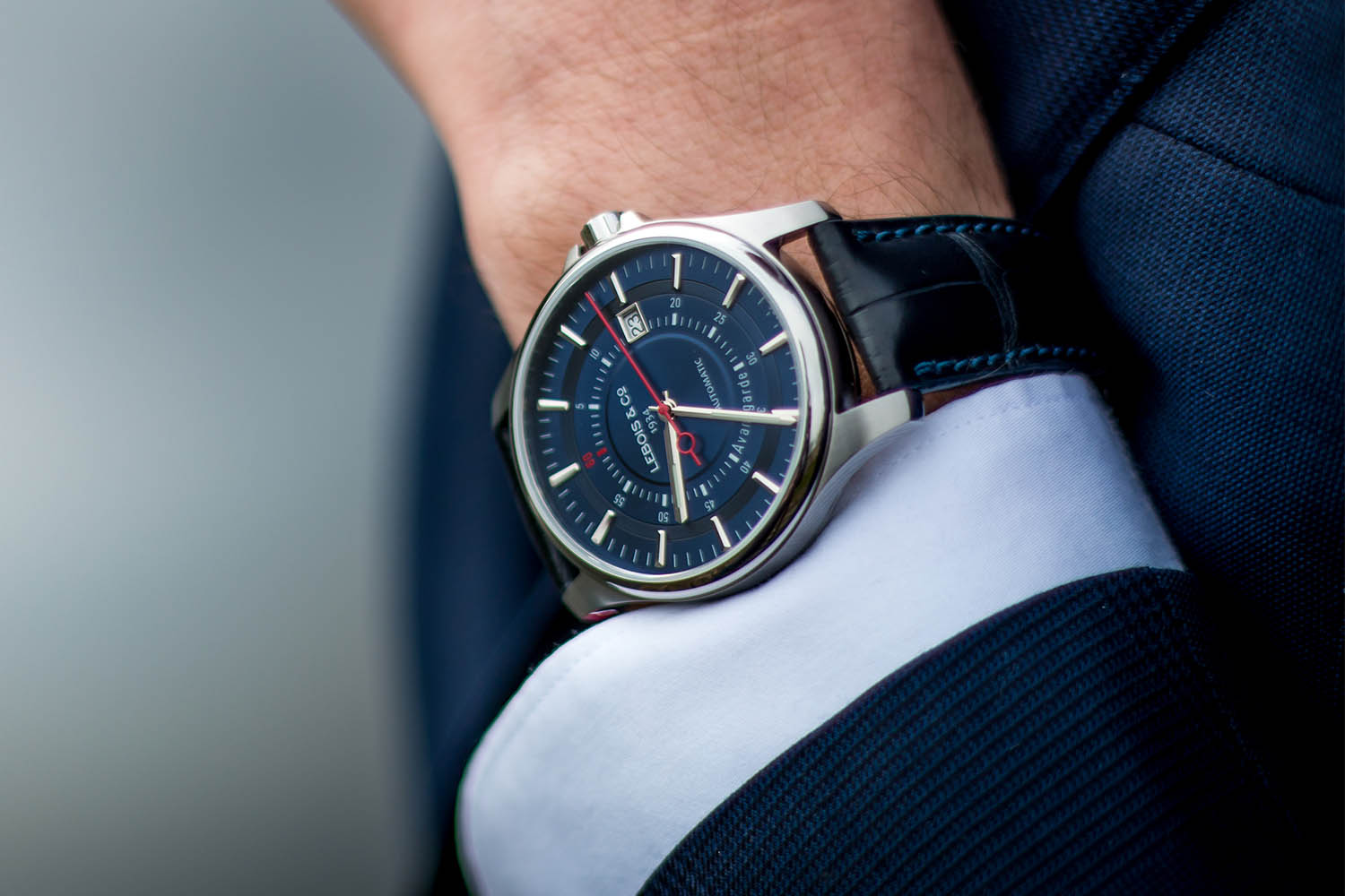 Lebois and Co Avantgarde Date - The Re-launch Edition blue - 2
