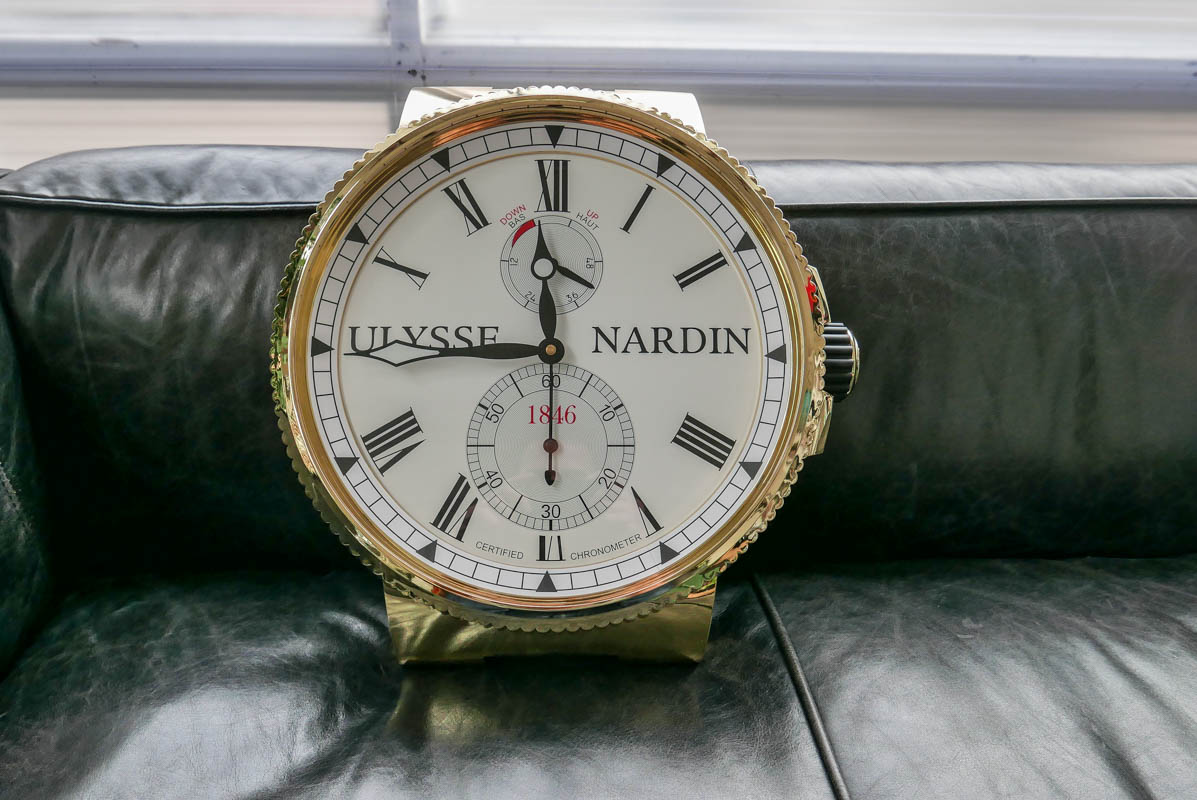 Give Away Ulysse Nardin Wall Clock Yes That S The Full