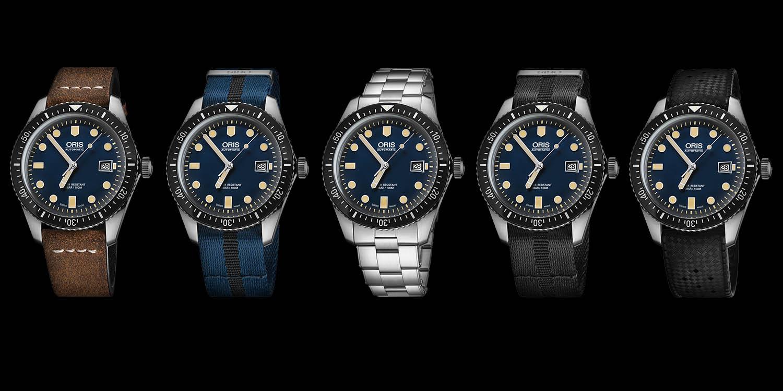 Oris's newest Diver's Sixty Five Oris-Divers-Sixty-Five-42mm-Collection