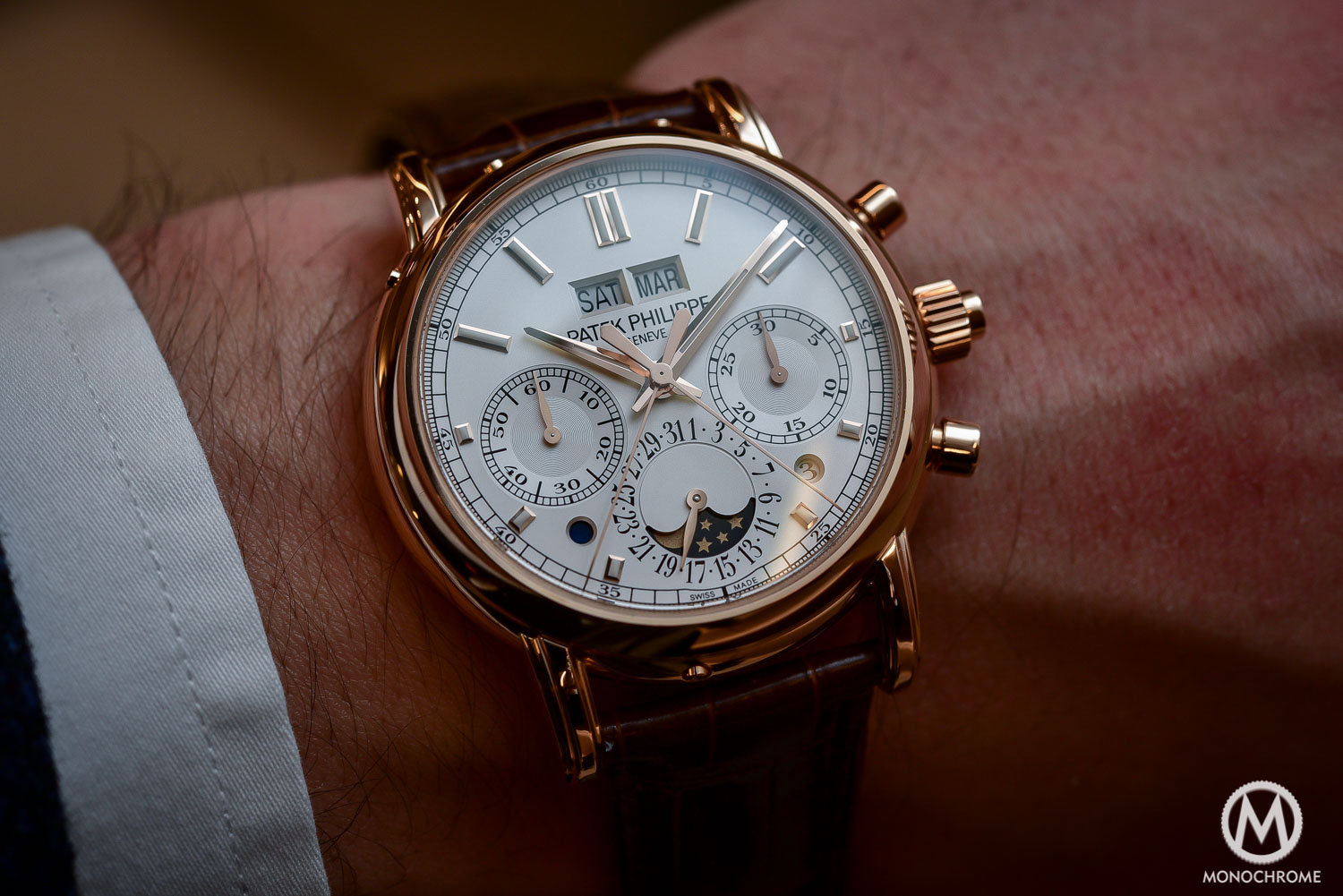 Patek Philippe 5204R Split-Seconds Chronograph Perpetual Calendar - Baselworld 2016 - 1