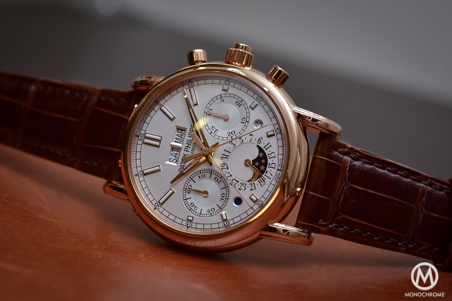 Patek Philippe 5204R Split-Seconds Chronograph Perpetual Calendar - Baselworld 2016 - 4