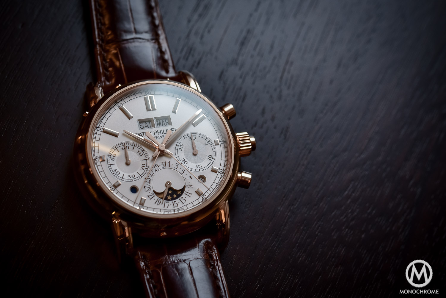Patek Philippe 5204R Split-Seconds Chronograph Perpetual Calendar - Baselworld 2016 - 6