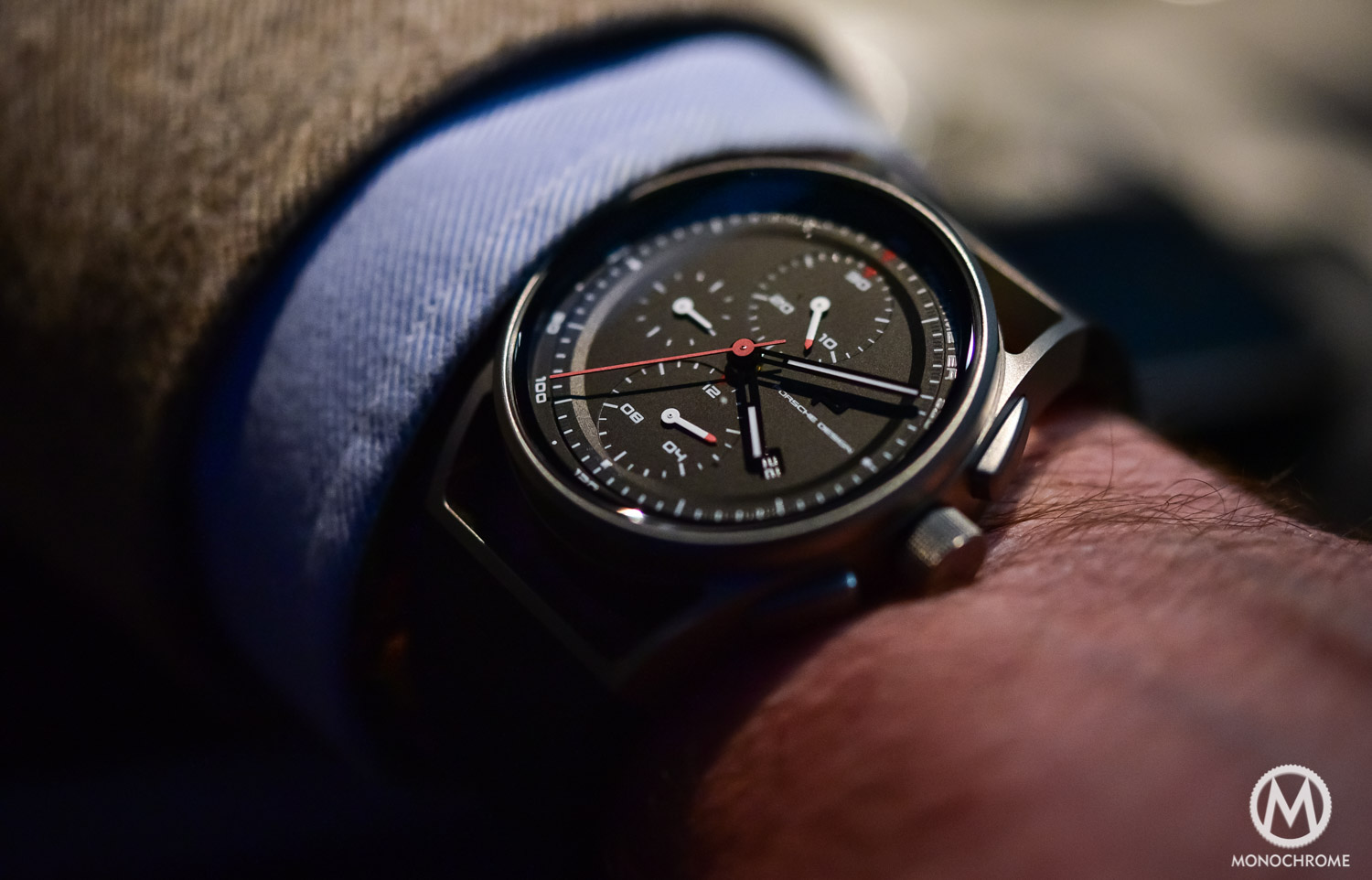 on porsche design 1919 chronotimer baselworld