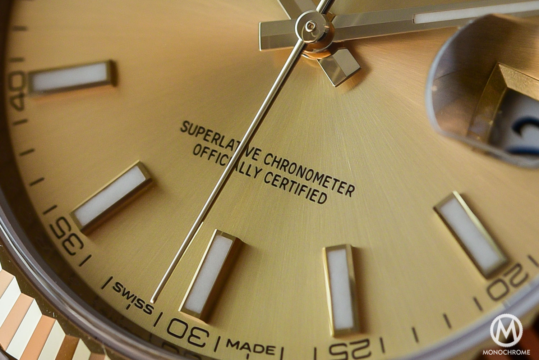 Rolex Datejust 41 126333 - Baselworld 2016 - Review - Superlative Chronometer certification