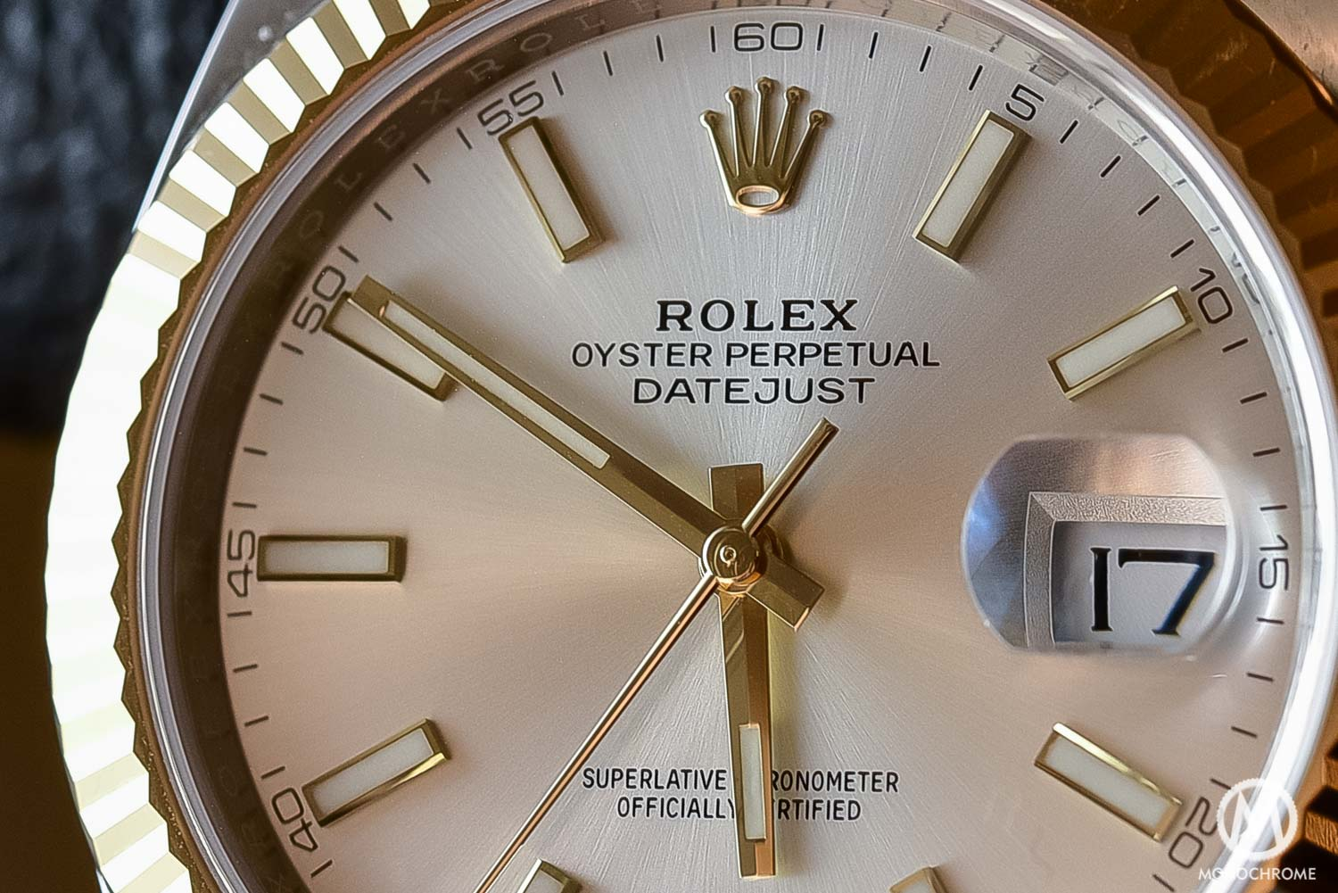 Rolex Datejust 41 126333 - Baselworld 2016 - Review - dial detail