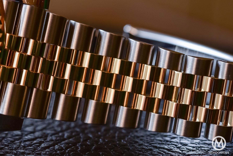 Rolex Datejust 41 126333 - Baselworld 2016 - Review - jubilee bracelet