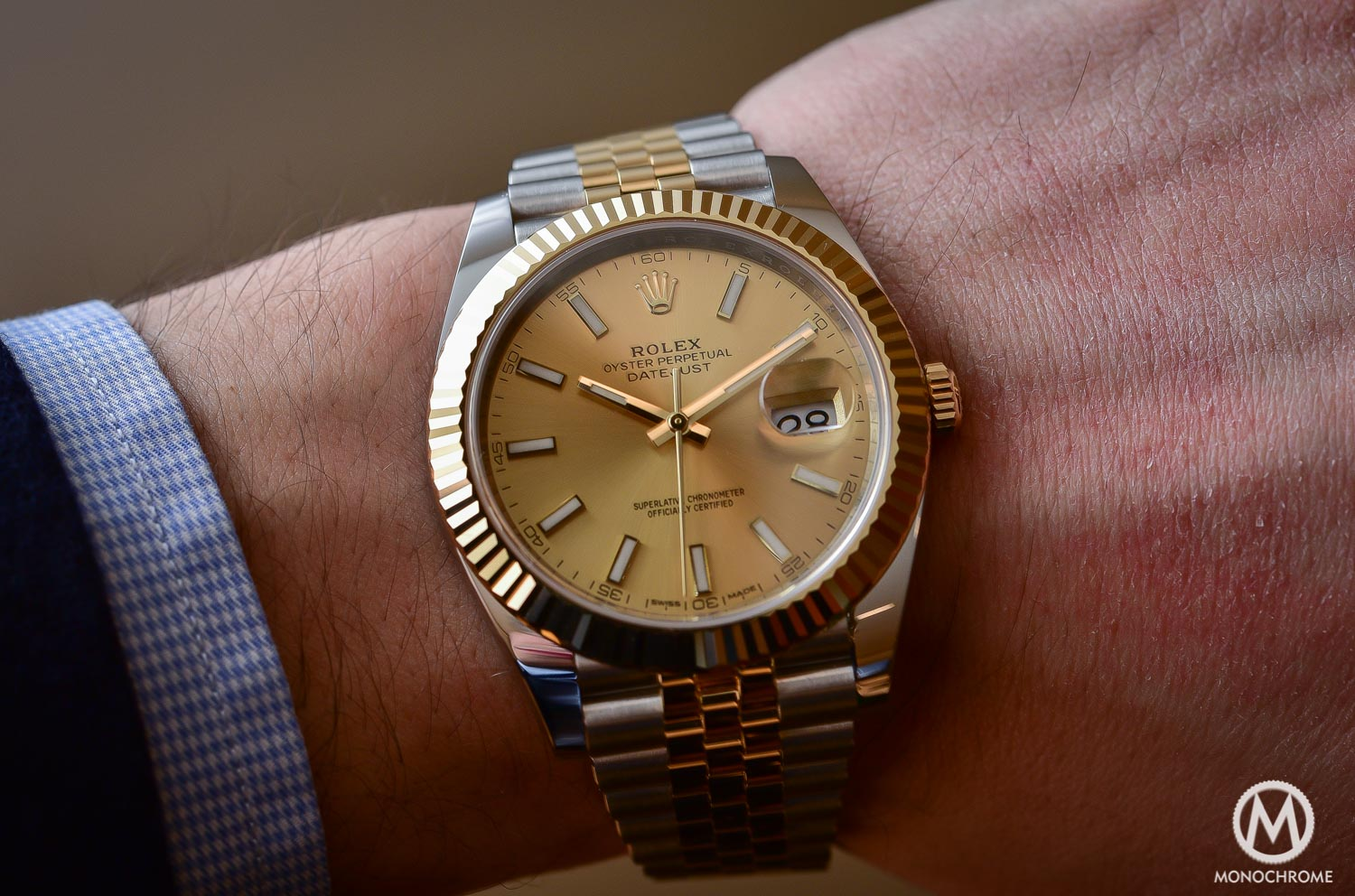 Rolex Datejust 41 126333 - Baselworld 2016 - Review - on the wrist