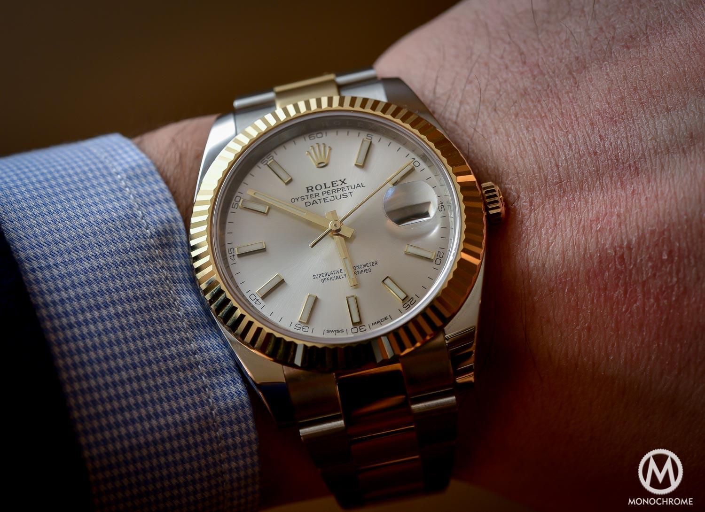 Rolex Datejust 41 126333 - Baselworld 2016 - Review - wristshot