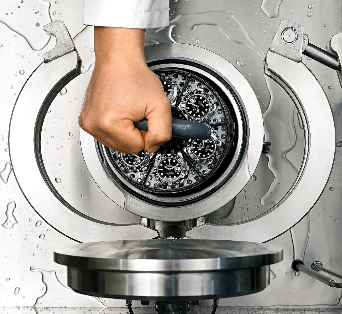 Rolex water resistant test