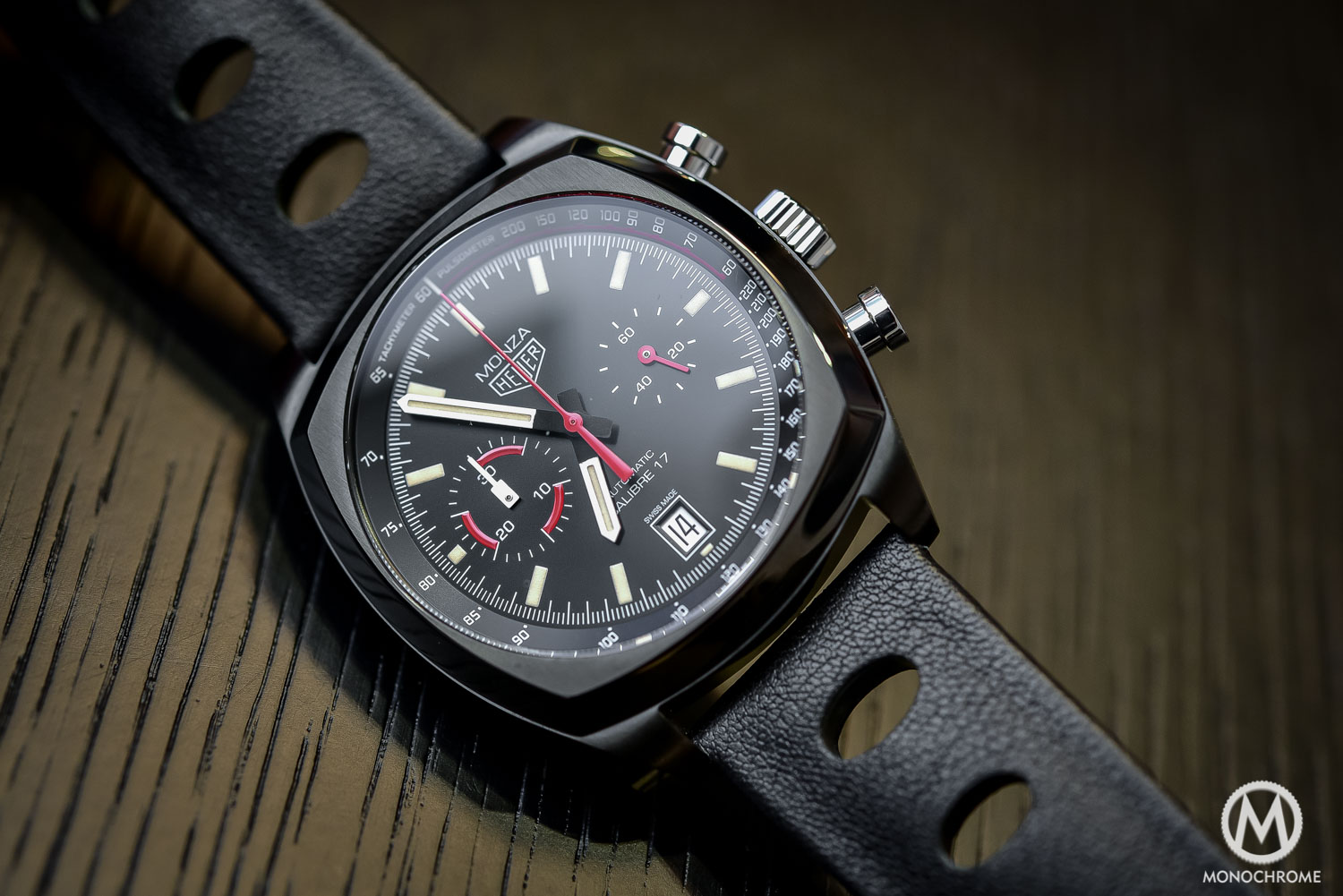 TAG Heuer Monza 40th Anniversary Calibre 17 - Baselworld 2016 - 1