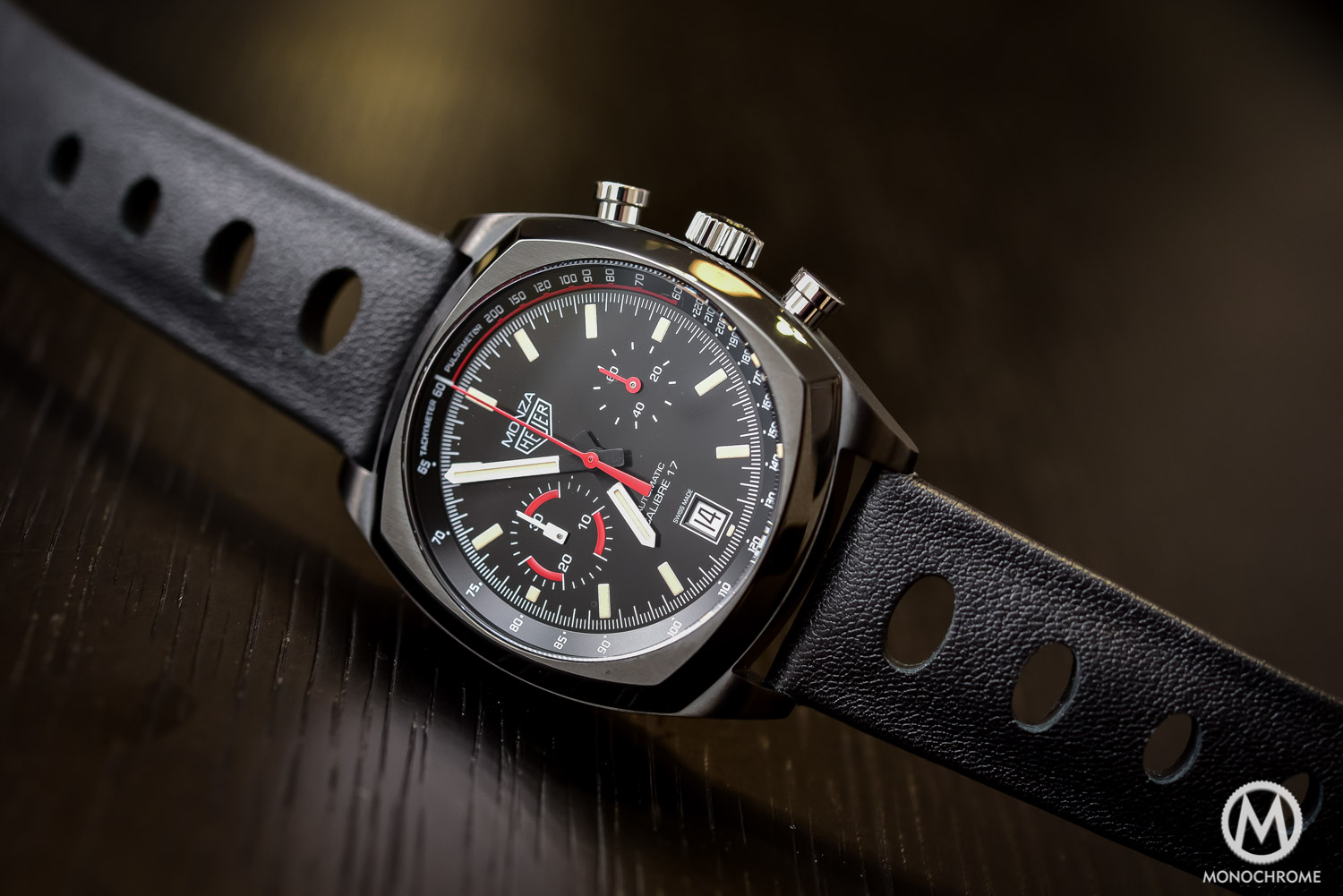 TAG Heuer Monza 40th Anniversary Calibre 17 - Baselworld 2016 - 4