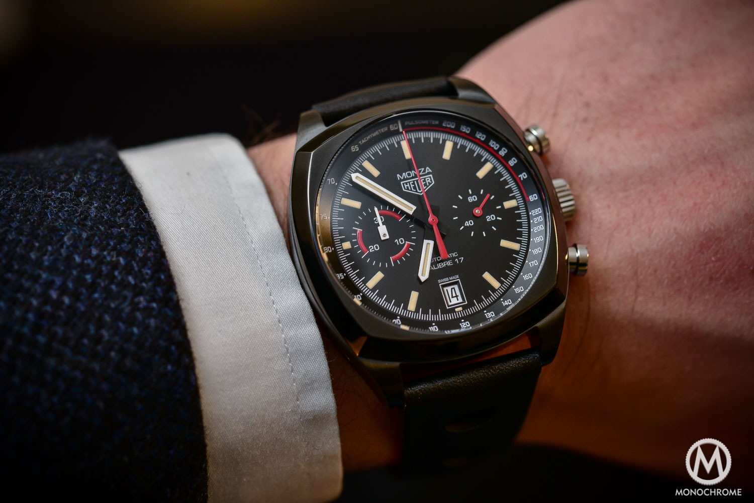 Hands-on - TAG Heuer Monza 40th Anniversary Calibre 17 - Baselworld 2016