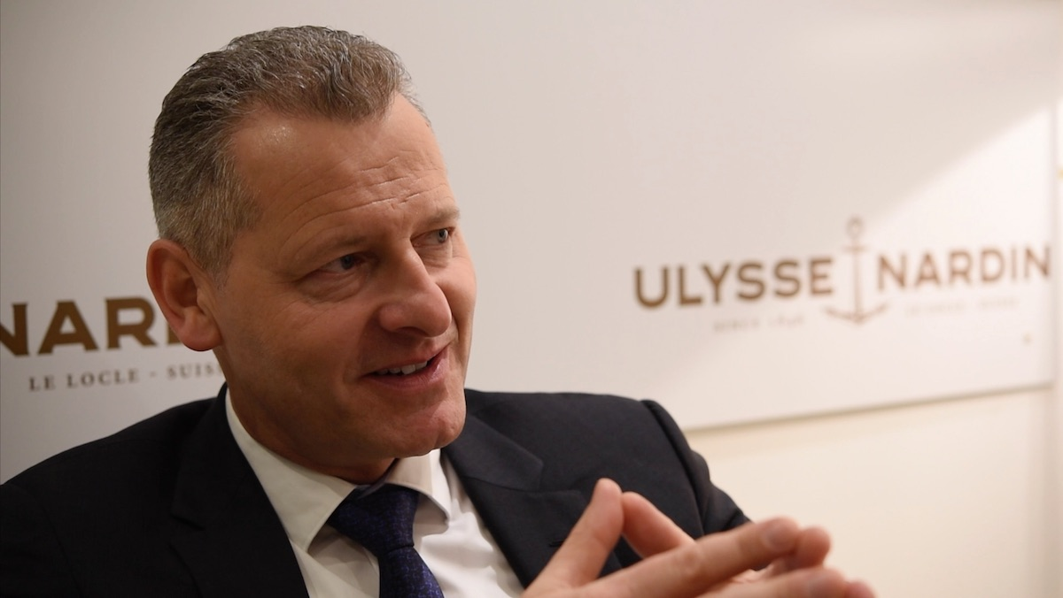 video interview patrik p hoffmann ceo of ulysse nardin about video interview patrik p hoffmann ceo of ulysse nardin about baselworld 2016 and the 20th anniversary of the marine collection monochrome watches
