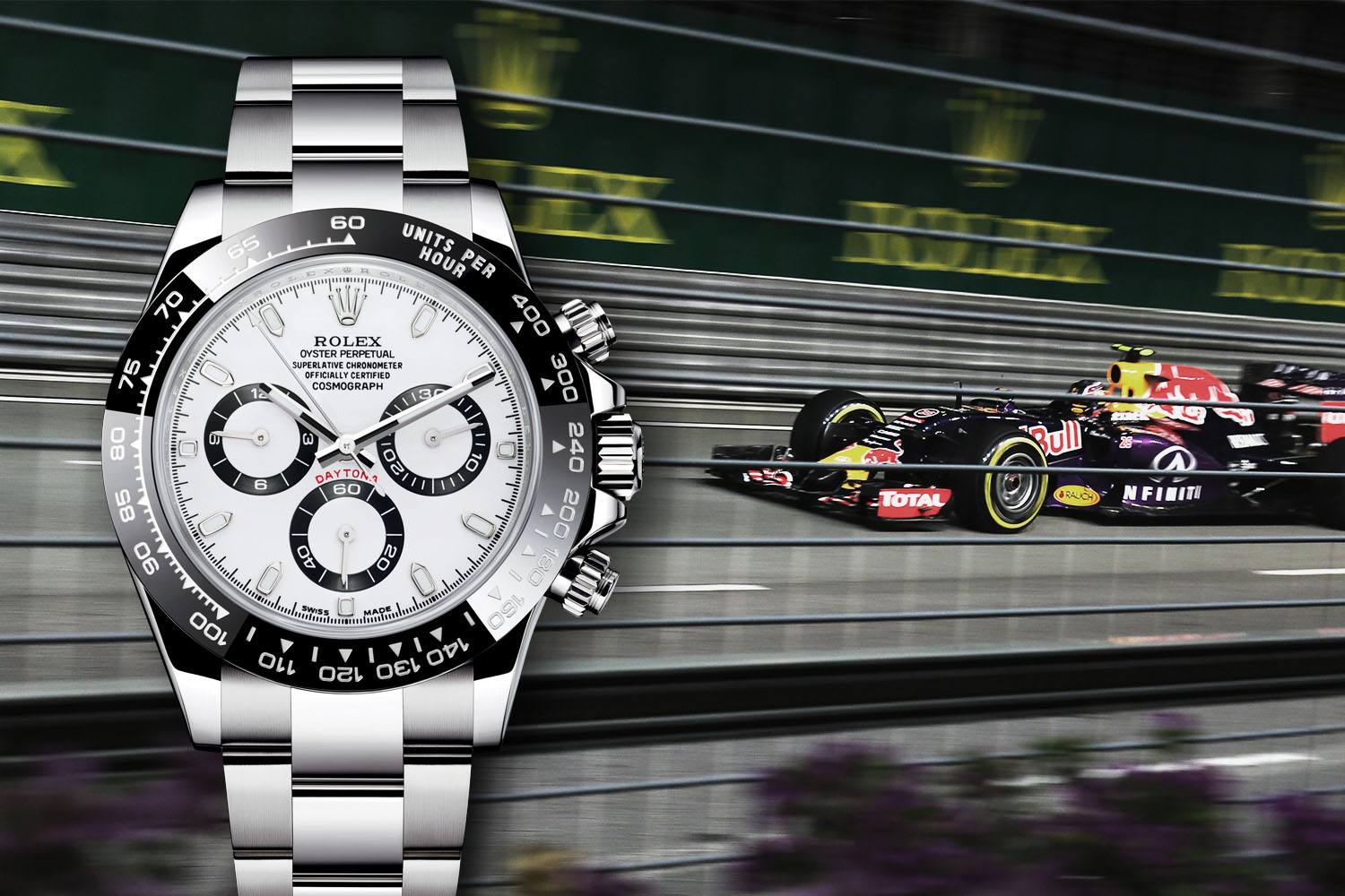Watches and Formula 1 - Rolex official Timekeeper