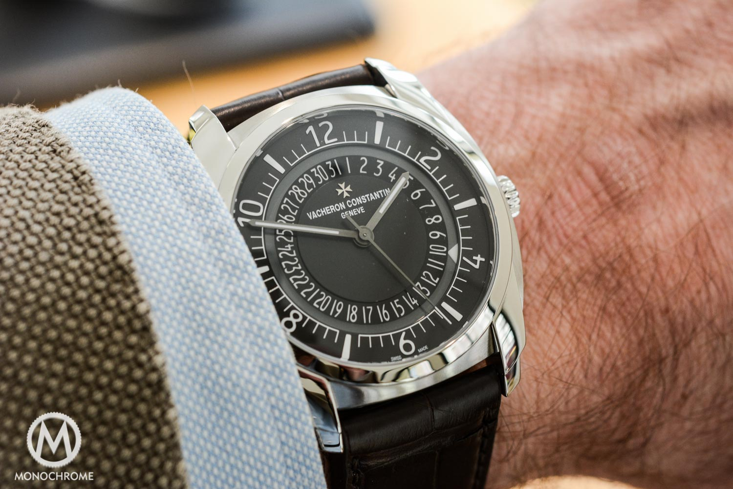 The New Vacheron Constantin Quai de l'Ile in Stainless Steel – Hands-on Photos, Specs and Price