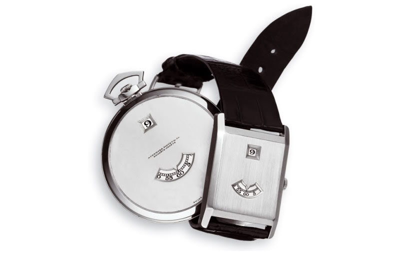 Audemars Piguet Jumping hour Pocket and wrist watch 1921
