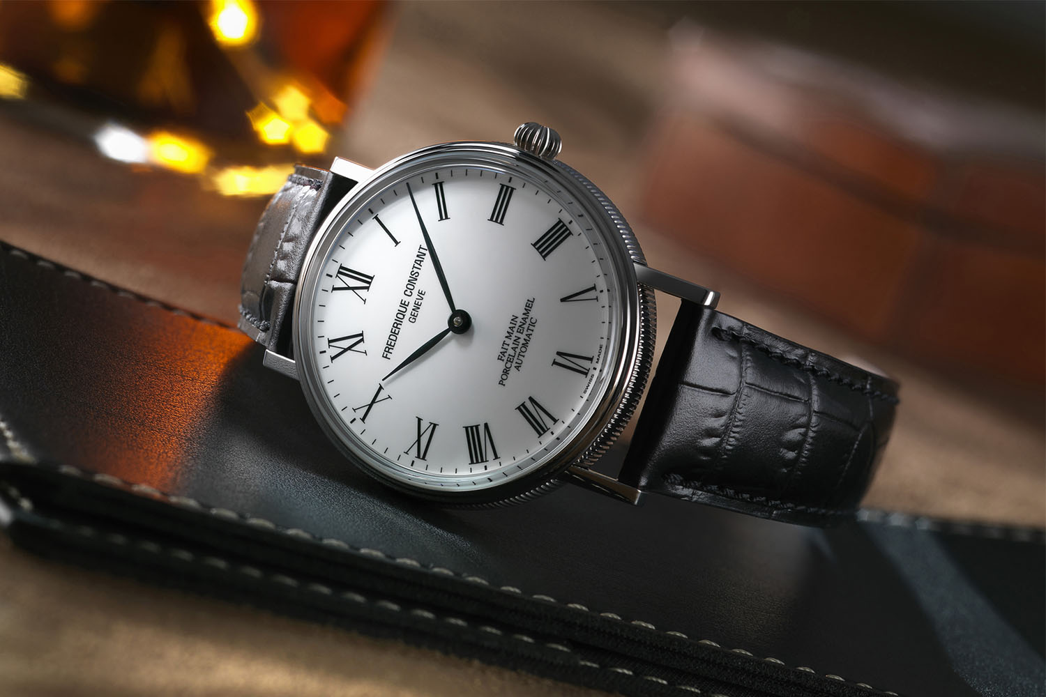 Introducing - The Frederique Constant Classics Art of Porcelain, or ...